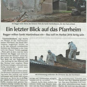 Asbestabbau in Untertraubenbach