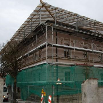 Sanierung Rathaus in Rötz