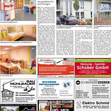 Kindergarten Zillendorf – Eröffnung –