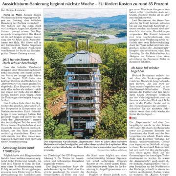 Sanierung der Bayernwarte