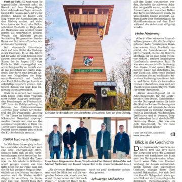 Die Bayern-Warte ist wieder zugänglich